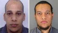 Brüder des Terrors: Chérif Kouachi (32) und sein Bruder Said Kouachi (34).