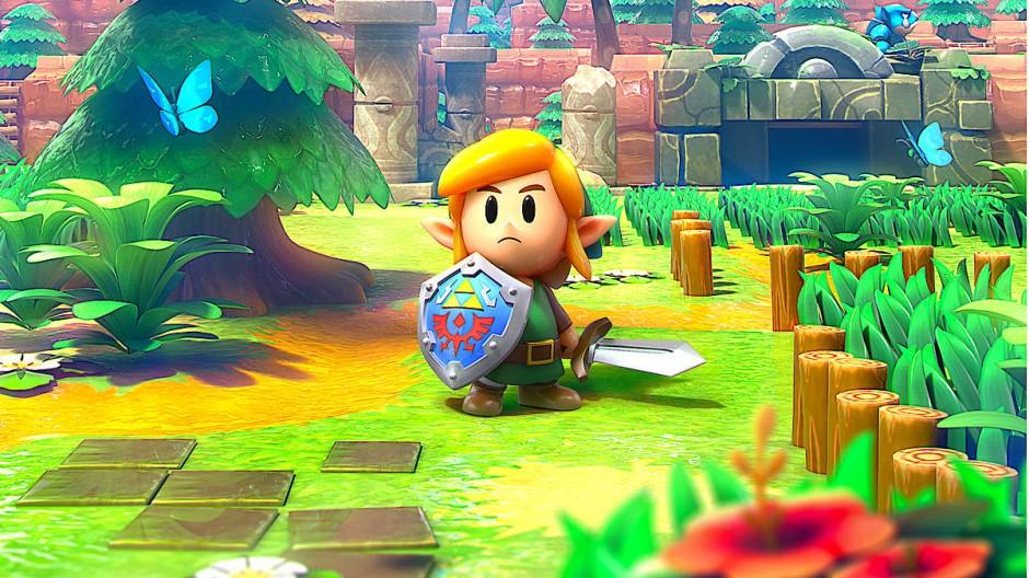 """Noch mal in Farbe: Waldläufer Link in der Wiederauflage von """"The Legend of Zelda: Link's Awakening"""""""