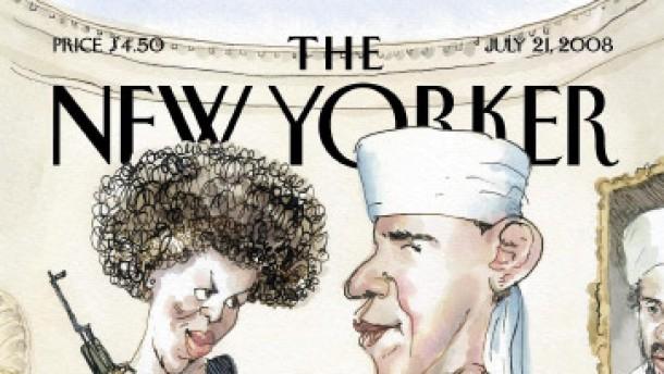 """Der """"New Yorker"""" bekämpft Feuer mit Feuer"""