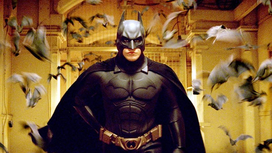 """Spiel mit den Identitäten: Christian Bale in """"Batman Begins"""" (2005) von Christopher Nolan"""