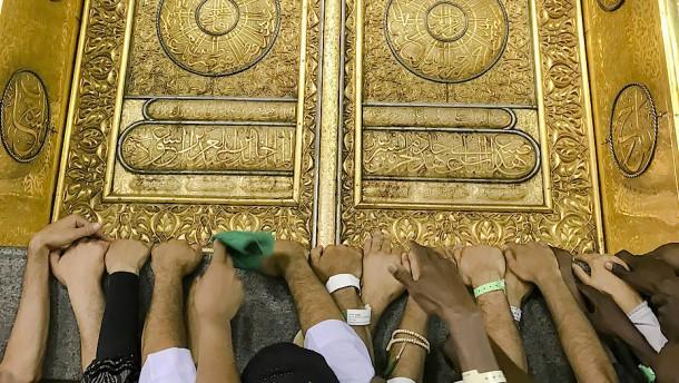 Allah muss die Menschen nicht mit Spannung fesseln