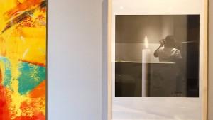 Gerhard-Richter-Bild weg