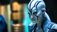 "Interstellare Ästhetik: Sofia Boutella als Jaylah in einer Szene aus ""Star Trek Beyond""."