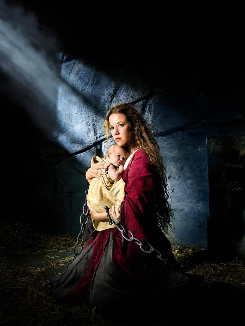 Maria hätte das nicht besser gekonnt als die Marie des Alexandra Neldel. Und so ein Baby obendrein!