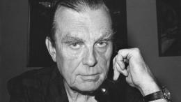 """Czesław Miłosz: """"Aus dem Fenster"""""""