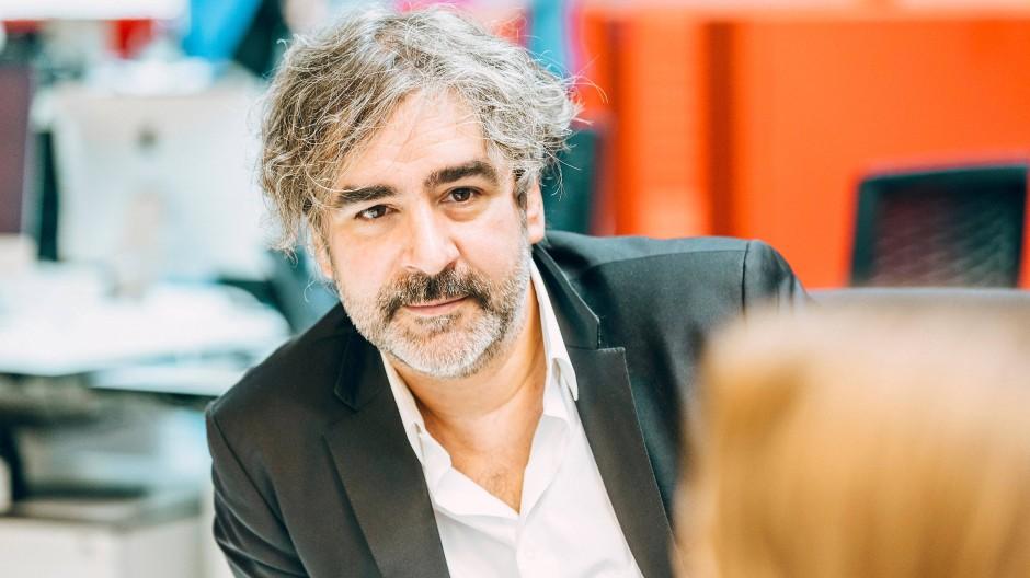 Ihm drohen neue Verfahren in der Türkei: der Journalist und Autor Deniz Yücel