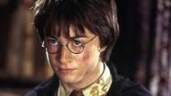 """Das soll Harry Potter sein? Viele Leser mussten sich erst einmal daran gewöhnen, dass Daniel Radcliffe in der Verfilmung der Romane anders aussieht als der Zauberschüler ihrer Vorstellung – Szene aus """"Harry Potter und die Kammer des Schreckens""""."""