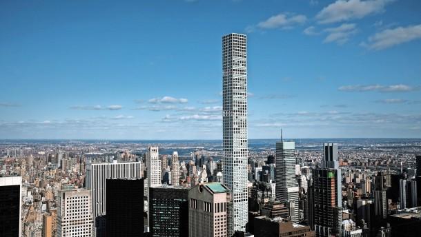 Milliardärsturm an New Yorker Park Avenue wird zum Schadensfall