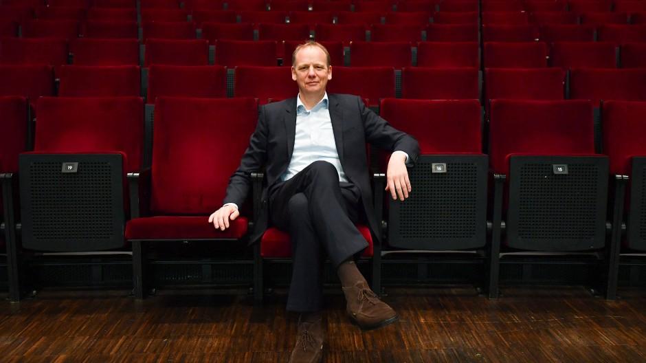 Offensichtlich der Herr im Haus: Anselm Weber, Intendant und Geschäftsführer am Schauspiel Frankfurt