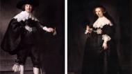 Rembrandts Porträts des Marten Soolmans und seiner Frau Oopjen Coppit