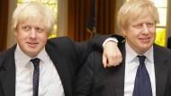 Wer ist der wahre Boris? Johnson bei Madame Tussaud.