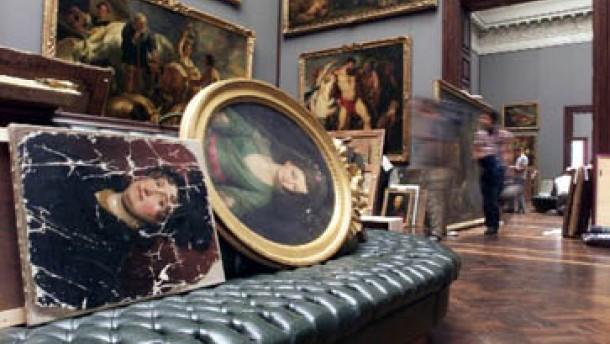 Dresdner Museen in Not