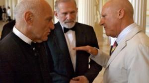 Foster, Geremek und Serra in den Orden Pour le mérite aufgenommen