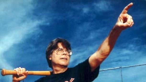 Stephen King wirbt im Netz