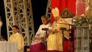 Benedikt XVI. spricht auf Kuba Situation der Katholiken an - Messe von Zwischenrufen gestört