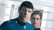 Kirk (r.) und Spock im neuen Star Trek-Film Into Darkness
