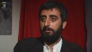 Das Tempo seiner Gesten zeigt, was er erlebt hat: Amer Matar