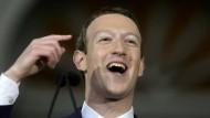 Experimentierfreudig: Facebook-Chef Mark Zuckerberg