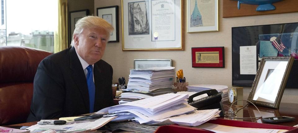 Ein Interview Gewahrt Einblicke In Trumps Buro