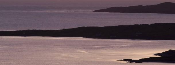 Atlantikküstenausblicke, irgendwo zwischen Clifden und Galway