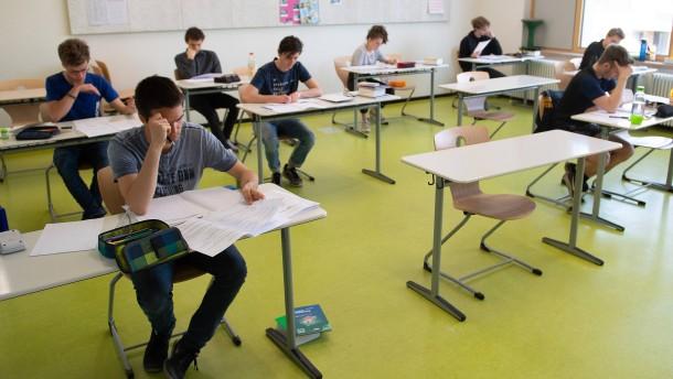 In Sachsen wird die Mathe-Abiturnote angehoben