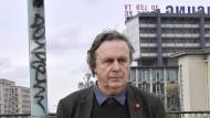 Wo Paris in die Banlieue übergeht: Jean-Christophe Bailly am Périphérique