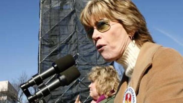 Bagdad-Jane: Jane Fonda demonstriert wieder