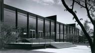 """Vorbild vieler Stahlskelettbauten auch in Deutschland: Mies Van Der Rohes """"Crown Hall"""" für das Illinois Institute of Technology in Chicago"""