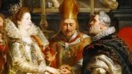 Mitunter prüft einander auch, wer sich schon ewig gebunden hat: Vermählung Heinrich IV. und Maria de Medicis, gemalt von Peter Paul Rubens.