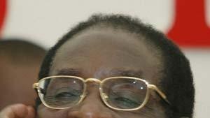 Mugabe wurde Dritter