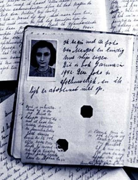 Anne Franks Tagebuch Ist Authentisch