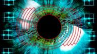 Über die Analyse der Pupille will die Firma Tobii den Gemütszustand und die Aufmerksamkeit des Nutzers herausfinden: biometrischer Iris-Scan