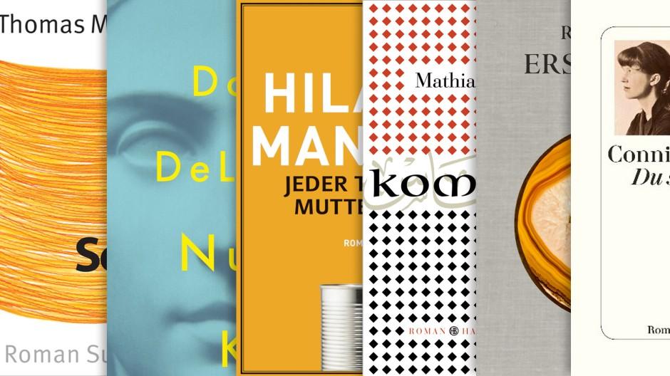 Die wichtigsten Romane des Herbstes