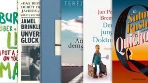 Die wichtigsten Romane der Saison