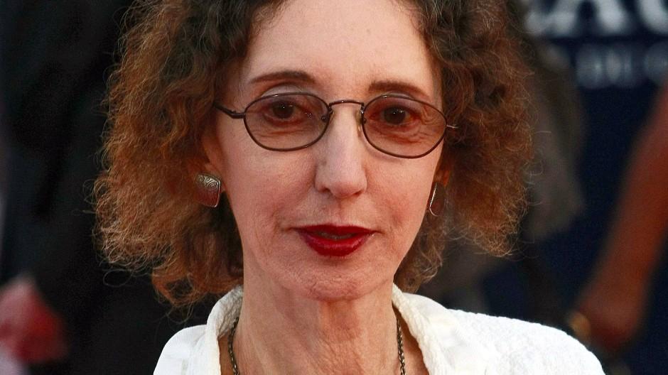 Die US-Amerikanische Schriftstellerin Joyce Carol Oates.