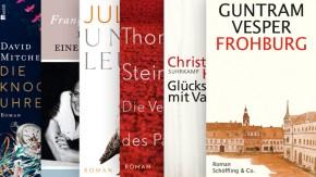 Aus der Literaturbeilage der F.A.Z.: Die wichtigsten Romane des Frühjahrs