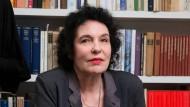 Suhrkamp-Verlegerin Ulla Unseld-Berkéwicz beim Kritiker-Empfang zur Buchmesse im Siegfried Unseld Haus in Frankfurt