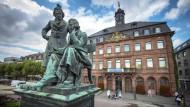 Es sollte ein Hausbuch für Jedermann werden - Das Grimmsche Wörterbuch der Brüder Wilhelm und Jacob Grimm.