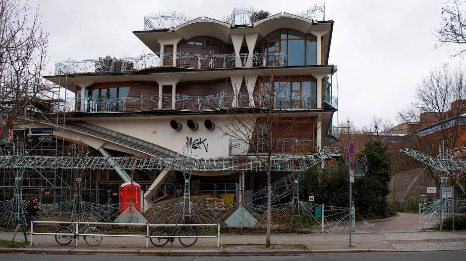Hier haben fast alle Schüler einen Migrationshintergrund: Eingangsbereich der Spreewald-Grundschule in Berlin-Schöneberg