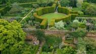 Zeichen einer Ehe: Der Rosengarten von Sissinghurst Castle.