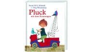 """Annie M. G. Schmidt: """"Pluck mit dem Kranwagen"""". Mit Bildern von Fiep Westendorp. Aus dem Niederländischen von Rosel Oehlke. Ellermann Verlag, Hamburg 2015. 208 S., geb., 14,99 €. Ab 5 J."""