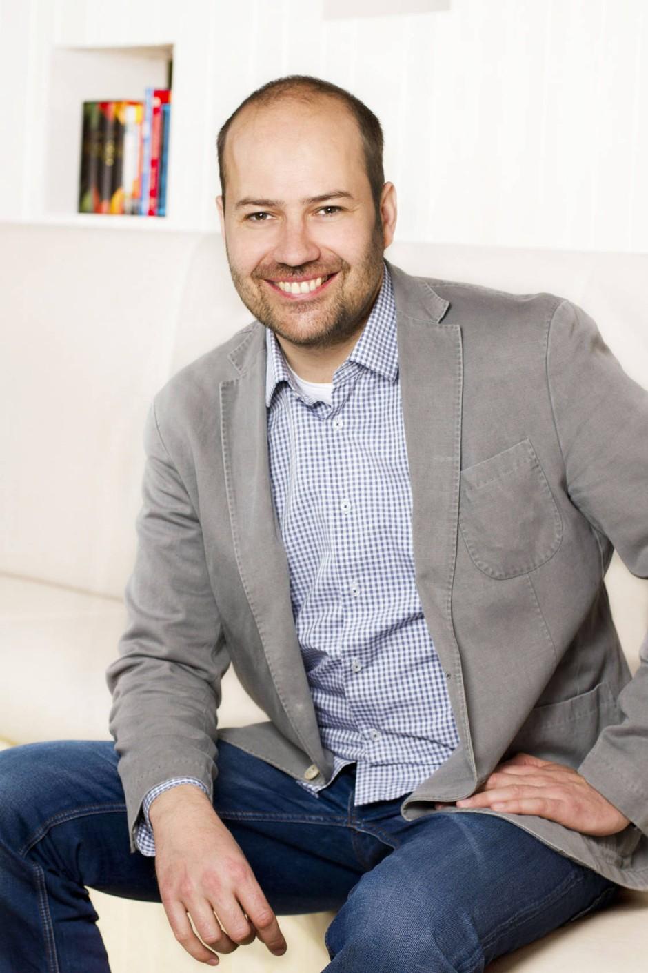 Seit fünf Jahren in der Geschäftsführung der Verlagsgruppe Oetinger: Till Weitendorf