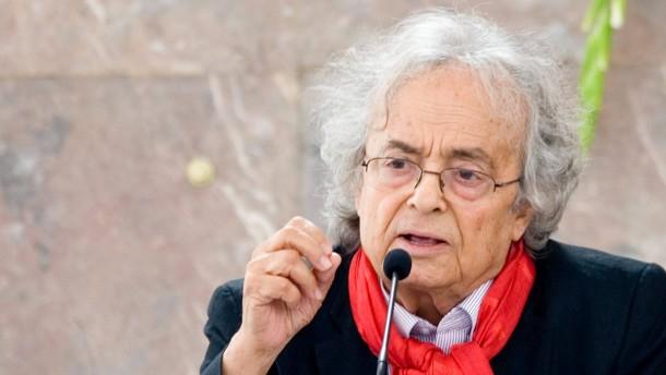 Adonis - Der arabische Dichter Adonis bekommt in der Paulskirche  den diesjährigen Goethe-Preis der Stadt Frankfurt verliehen.