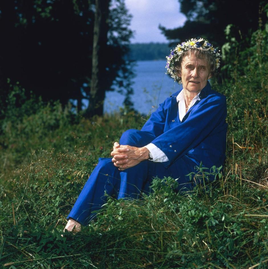 Astrid Lindgren 1988