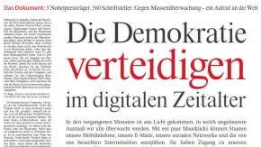 Die Demokratie verteidigen im digitalen Zeitalter: Der Aufruf der Schriftsteller