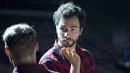 Um einen Shakespeare für die junge Generation probend: Regisseur Abdullah Kenan Karaca im Oberammergauer Theaterzelt, mit Dima Schneider als Paris