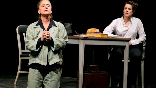 "Debra Winger and Patti LuPone in ""The Anarchist"" at the Golden Theater in New York."