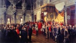 Wie ein Gemälde die symbolische Ordnung von Wilhelms Reich zeigt