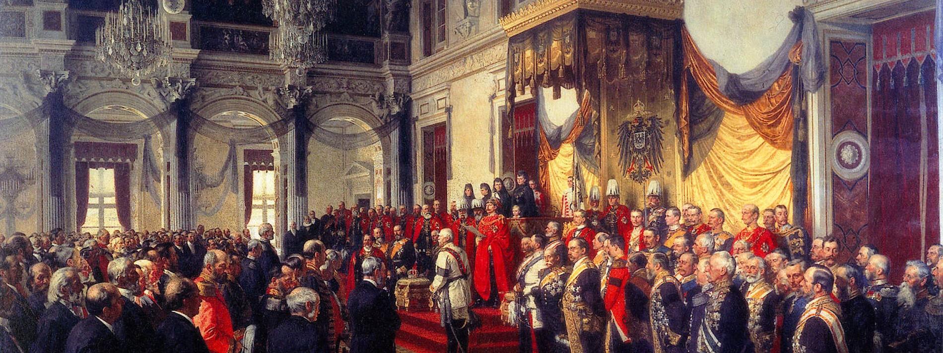 Wilhelm und seine Getreuen: Eine Bildlektüre