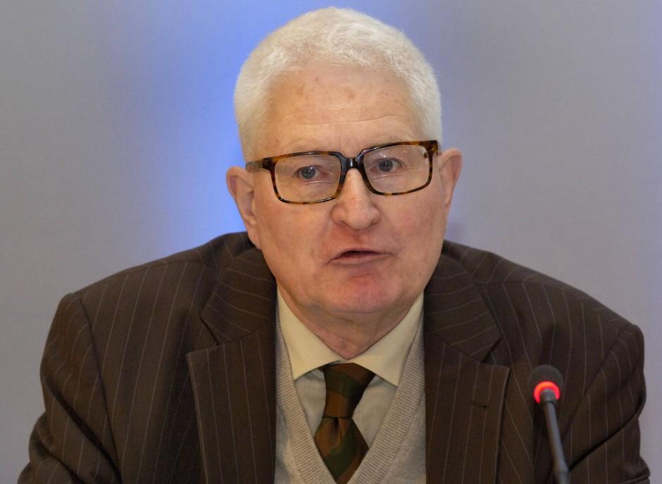 Der Soziologe Erich Weede.